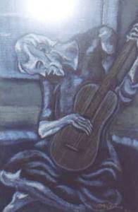 Recreación sobre original de Pablo Picasso por Maria Cristina Moline